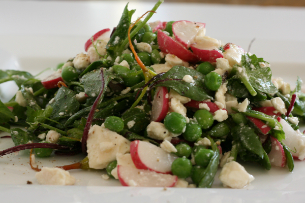 Pea Tendril Salad
