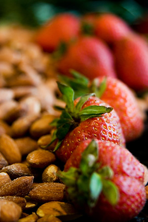 Strawberries + Almonds
