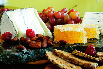 Cheese + Honeycomb Platter