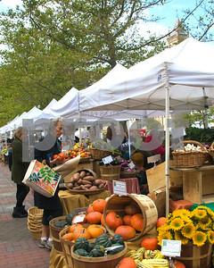 Copley Farmers' Market October 2011