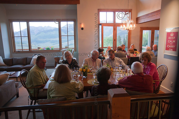 Crested Butte Center For the Arts Presented it's last Tour de Forks meal for the Summer 2010 season on Friday, Sept., 10, 2010. The chef for the evening is Michael Marchitelli. (Photo/Nathan Bilow)
