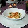 """""""Kreeftenravioli in zijn jus met croutons van Zeebrugse zeetong""""<br /> (Lunch-02-01-2009)"""