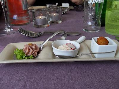 """""""Proevertje van de chef"""" Hapjes bij het aperitief! (Lunch)"""