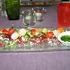 """Meritus rundscarpaccio met chermoula van tuinkruiden in Oosterse dressing"" <br /> (Lunch-menu 2009-08-14)"