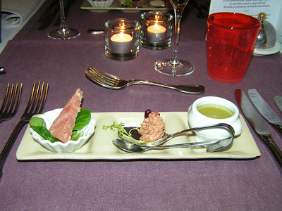 """""""Proevertje van de chef"""" Hapjes bij het aperitief! (Marktmenu-02-01-2009)"""