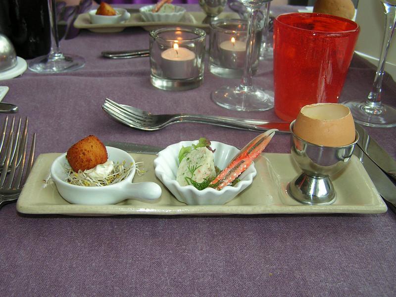 """""""Proevertje van de chef""""<br /> Hapjes bij het aperitief! (Gastro-april 2009)"""