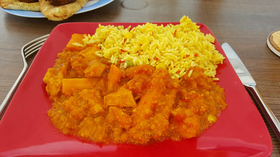 Chicken Dhansak