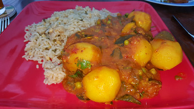 Potato & Pea Curry