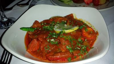 Chicken Balti Jalfrezi