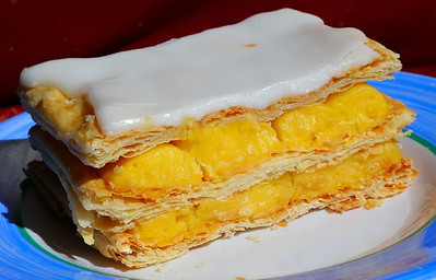 Custard Tart & Slice