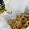 Fried tripe with sweetened black vinegar.