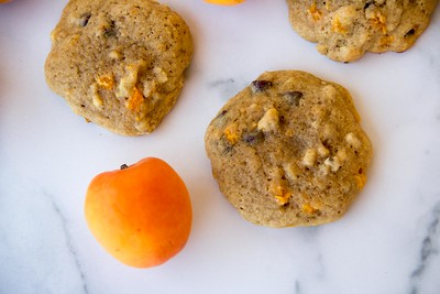 Apricot Chocolate Chip Cookies