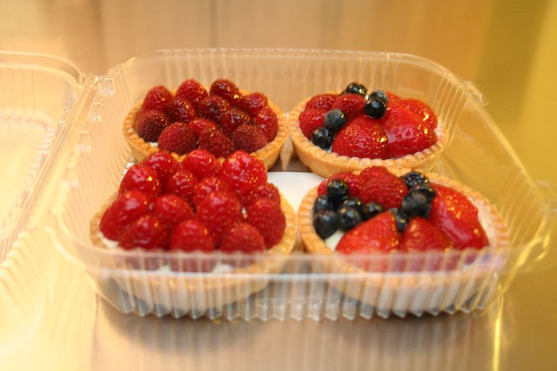 Fruit Tarts from Bryan's