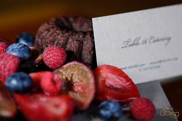 Berries, Figs & Cake