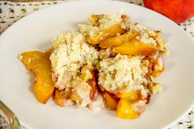 Klassen Family Peach Cobbler