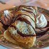 Ice Cream Filled Crepe