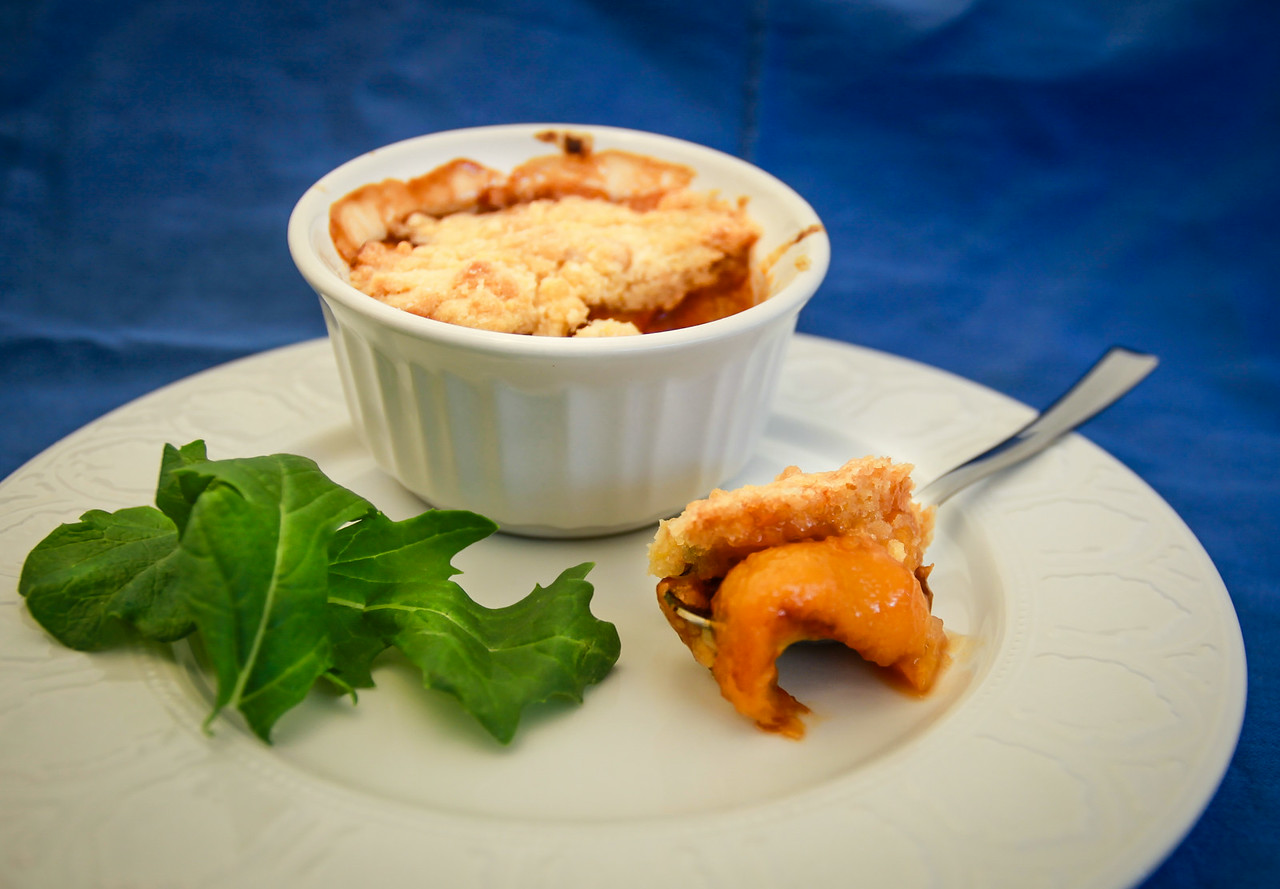 Summeripe Peach & Nectarine Mini Cobblers