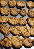 Dessert-peanut butter cookies, (No flour) as I have Celiac disease. Recipe is super easy: 1 cup peanut butter any style (creamy or chunky).<br /> 1 cup of sugar<br /> 1 egg<br /> 1 tsp. vanilla<br /> mix all ingredients together, drop on pan, bake 350 degrees F. 10-12 minutes. makes 2 dozen