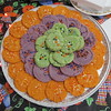 """DAC Halloween theme dance prepared by our great cook (Jeni J.)<br /> <br /> <a href=""""https://goodnewseverybodycom.wordpress.com/2013/11/03/bringing-a-different-treat-in-halloween/"""">https://goodnewseverybodycom.wordpress.com/2013/11/03/bringing-a-different-treat-in-halloween/</a>"""