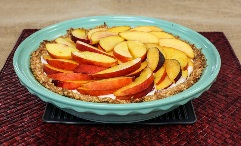 Klassen Family Fresh Peach Pie