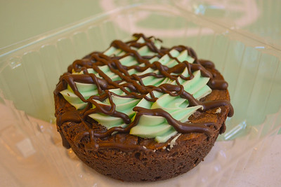 Mint Chocolate Chip Brownie