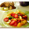 Fruit Salad & Wholegain Croissant