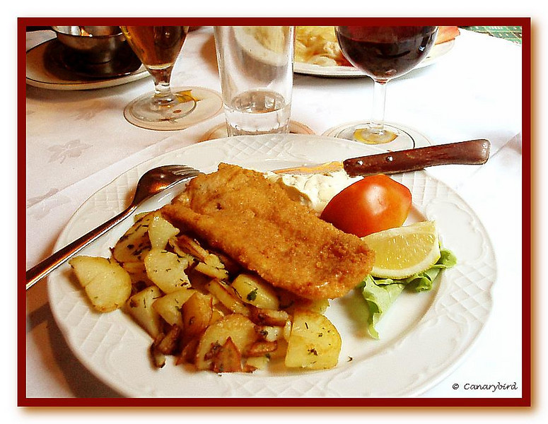 Breaded Hake & Bratkartoffeln