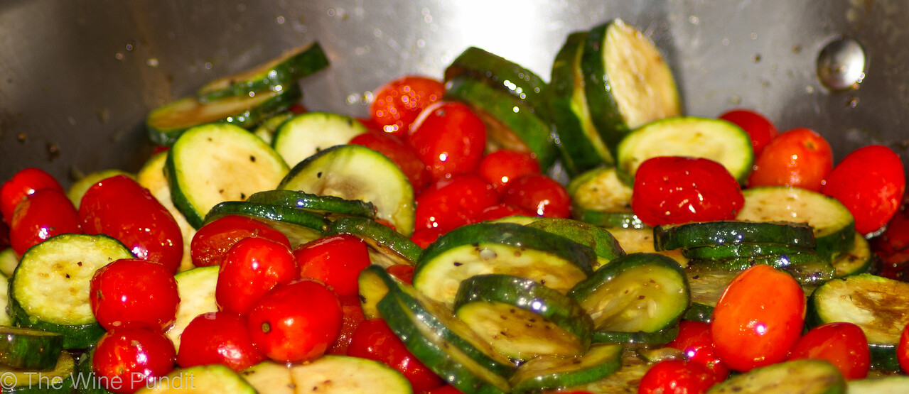 zucchini tomato