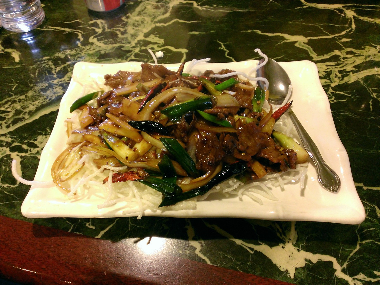 Ranier BBQ  and Restaurant_Mongolian Beef