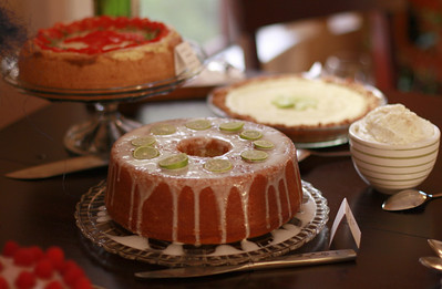 Kristin's Key Lime Rum Cake