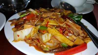 Duck in Szechuan Hot Bean Sauce