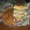 From MUGSHOT'S in Baton Rouge. Louisiana.  Chicken Salad Sandwich.