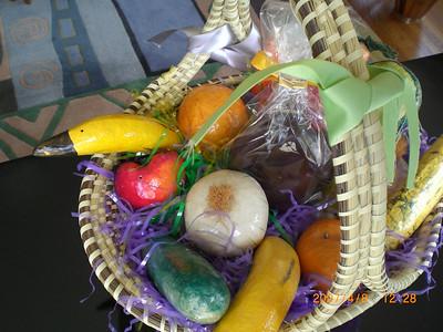Easter Dinner 2007 with Nancy, Carol, Karen, Mike, & Peeps