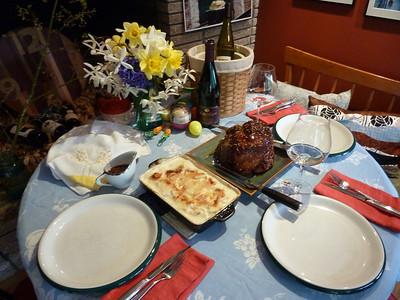 Easter Dinner 2012