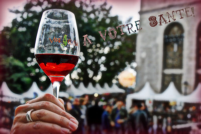 Sacre Couer Wine Fest Paris By: Kimberly Marshall