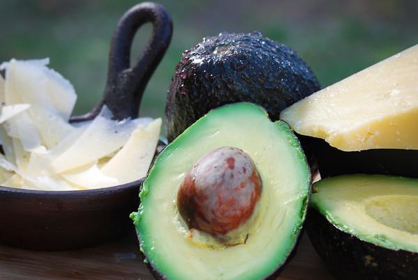 Organic Avocado and Parmesan