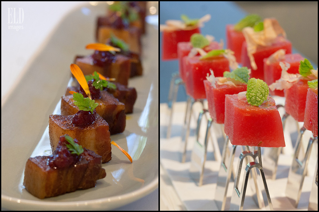 House-Cured Pork Belly & Compressed Watermelon - Copine