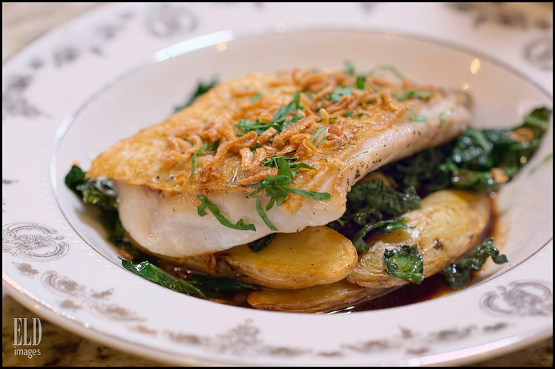 Seared Rockfish - Bramble House