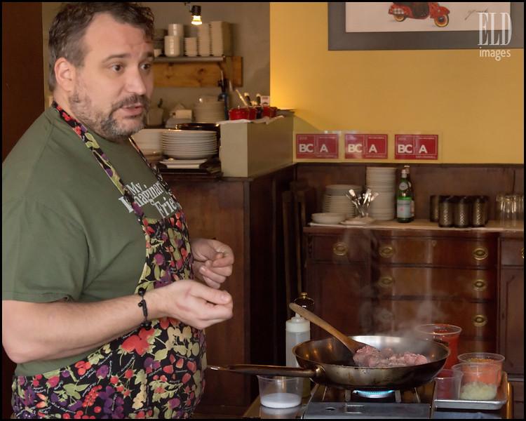 "Chef Sam Crannell - Lloyd Martin's ""Bolognese"""