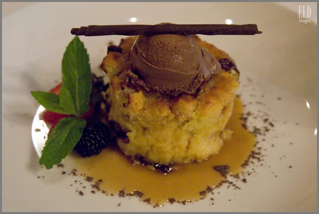 Chocolate Bread Pudding - Cowboy Star