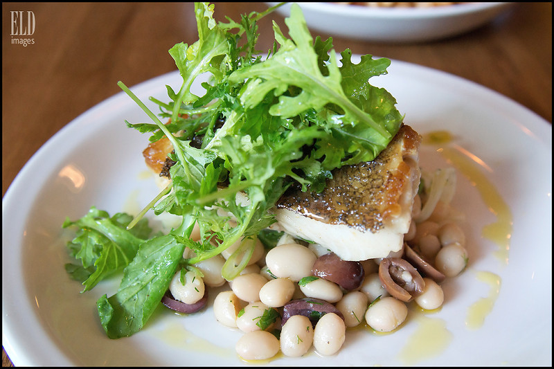 Black Ling Cod - Stoneburner<br /> Mixed bean salad...