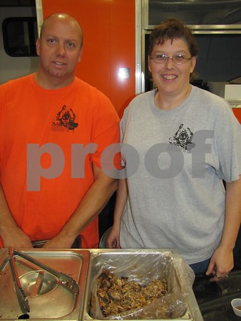 Bruce and Tanya Grummon of Smokin' Grump's BBQ