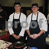 Anthony Mason from Bellevue, NB, and Andrew New from Epworth, IA, were demonstrating their skills at the ICCC Food and Beverage Expo. Both are students of the ICCC Culinary Arts Program.