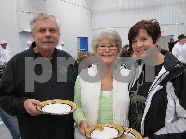 Don and Pat Gustafson and their daughter, Kelly Varnum, attended the ICCC Food and Beverage Expo.