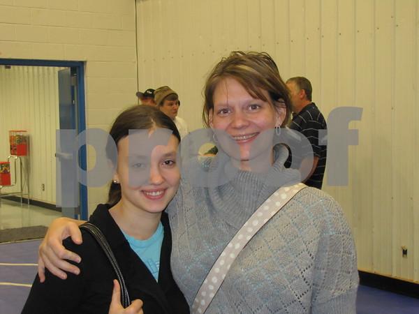 Chelsea Ackhart and Misty Robertson