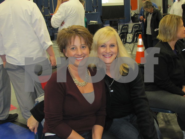 Lori Vandermaten and Deanne Zuspann