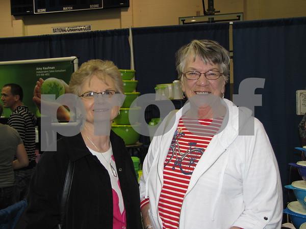 Barb Lynn and Marilyn Kroll