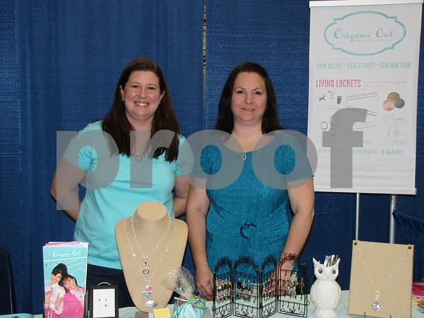 Angela Dobbins and Teresa Knowles of Origami Owl