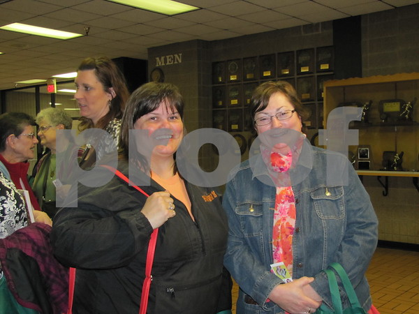 Lisa Sifrit, of Manchester, and Angie Zeman, of Laurens, attended the cooking school.
