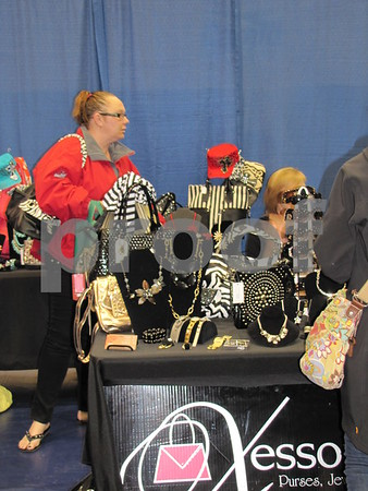 Xessorize booth at the vendor show at ICCC.